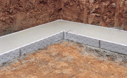 Blindside Waterproofing